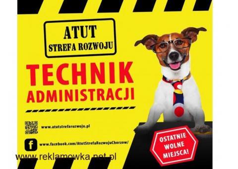 Technik Administracji - bezpłatny, dwuletni kierunek w ATUT Strefa Rozwoju Chorzów !