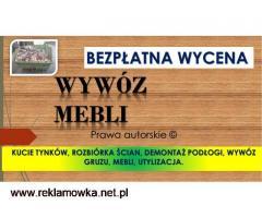 Wywóz wersalek,narożnika,cena,tel, 504-746-203,Wrocław,utylizacja,sofy