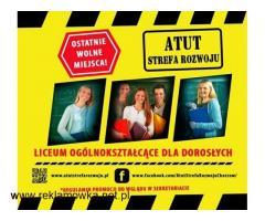 ATUT-Liceum Ogólnokształcące dla Dorosłych w Chorzowie !