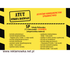 Bezpłatne szkoły policealne ATUT  w Chorzowie zapraszają do bezłatnej nauki !!