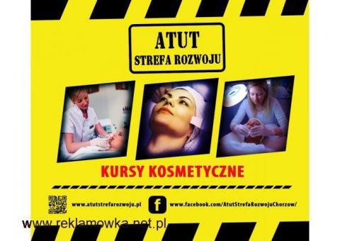 """Kurs kosmetyczny """" Makijaż dzienny"""" w ATUT Strefa Rozwoju Chorzów !"""