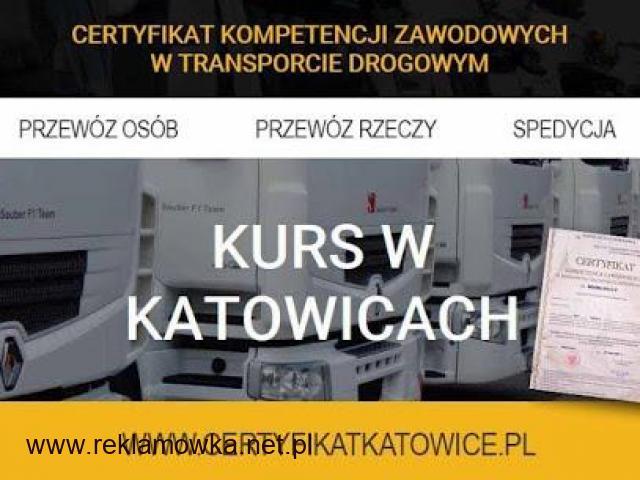 Certyfikat Kompetencji Zawodowych Katowice - 1/1