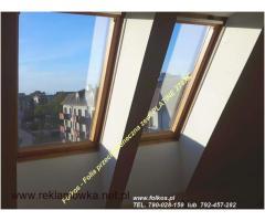 Folia na poddasze Na okna dachowe -przeciwsłoneczna Platine 270XC Folkos Warszawa Folie