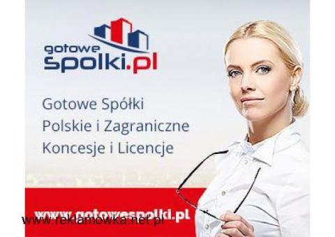 Gotowe Spółki w Holandii, w Belgii, w  Niemczech, w Anglii, Bułgaria Słowacja, Hiszpanii