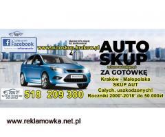 Tel: 518 209 380 Auto SKUP Aut SKUP Samochodów całych i uszkodzonych - GOTÓWKA OD RĘKI! - 2/2