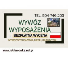wywóz mebli, wrocław, tel. 504-746-203, utylizacja,starych,mebli,odbiór,gratów