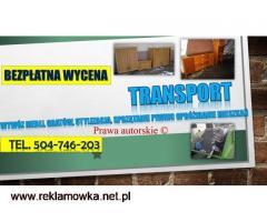 Firma odbierająca stare meble, tel. 504-746-203, Wrocław. Kto odbiera?