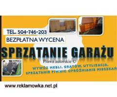 Sprzątanie piwnicy, cennik, usługi. tel. 504-746-203, Wrocław, oczyszczenie