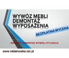 Wywóz,odbiór,starych okien, tel. 504-746-203, kabiny prysznicowej, brodzika,Wrocław