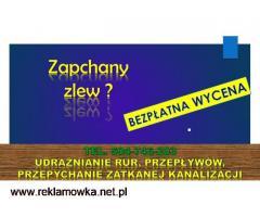 Przepychanie rur cena, tel. 504-746-203, toalety, odpływu, Wrocław