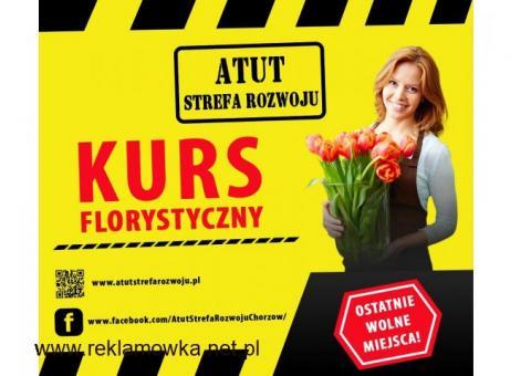 florystyka - kurs w ATUT Chorzów - zaświadczenie MEN
