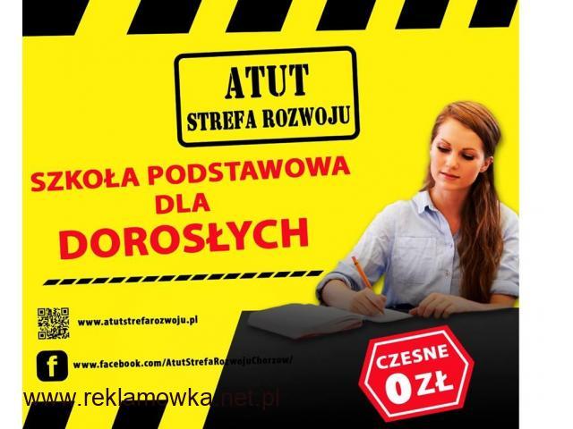 ATUT-Szkoła Podstawowa dla Dorosłych w Chorzowie -bezpłatna nauka ! - 1/1