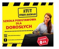 ATUT-Szkoła Podstawowa dla Dorosłych w Chorzowie -bezpłatna nauka !
