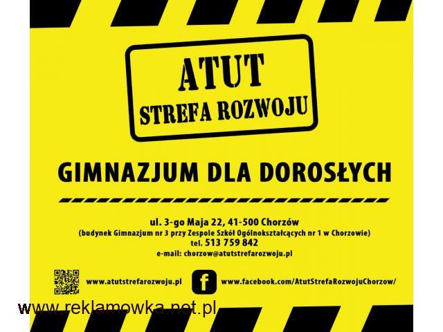 ATUT-Gimnazjum dla Dorosłych w Chorzowie - bezpłatna nauka ! - 1/1