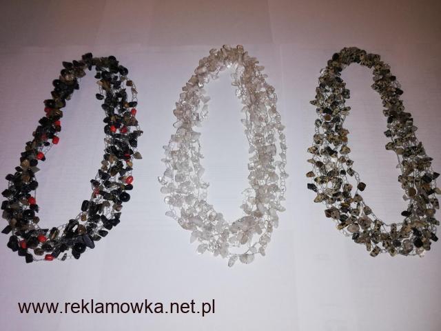 Korale kamienie szlachetne naszyjniki prezent upominek - 2/2