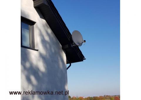 Montaż Ustawianie Serwis Anten Satelitarnych DVB-T