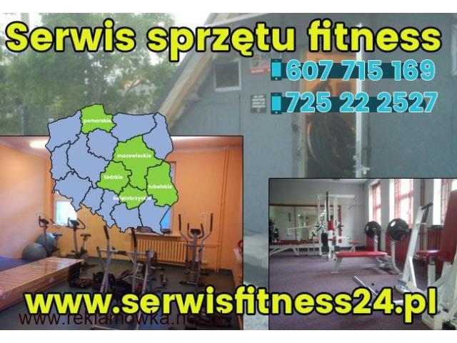 Serwis Sprzętu Fitness Rowerów Treningowych, Orbitreków - 1/1