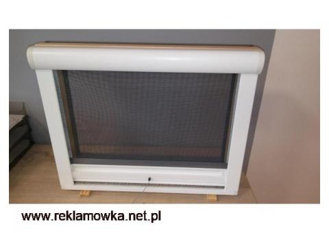 moskitiera do okien dachowych siatka insektowa rolowana