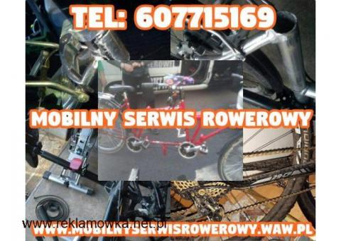 Mobilny Serwis Rowerowy Warszawa , Mazowieckie / Naprawiamy wszystkie typy rowerów