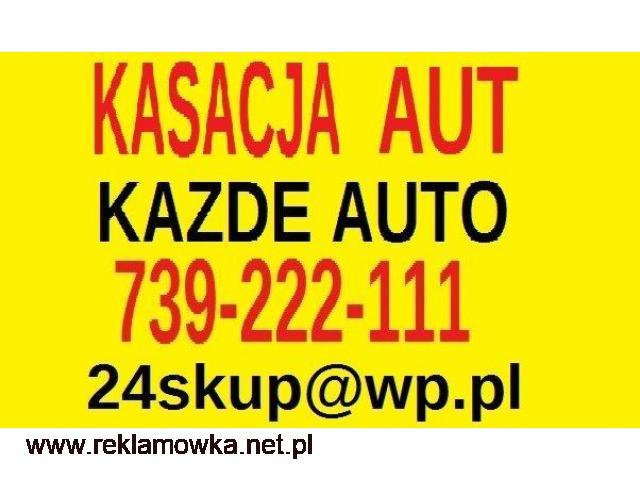 Auto Kasacja Aut Auto Złomowanie Pojazdów Warszawa - 1/1